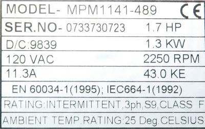 Intek MPM1141-489 label image