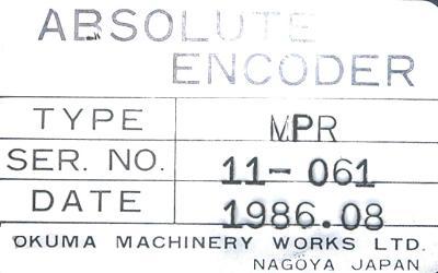 Okuma MPR-Okuma-encoder label image