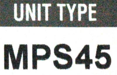 Okuma MPS45 label image
