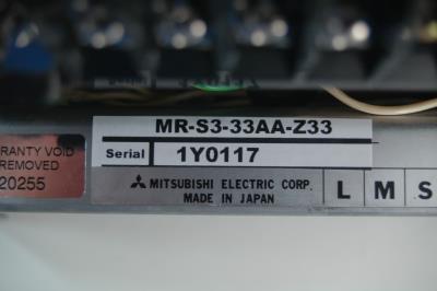 Mitsubishi MR-S3-33AA-Z33 label image