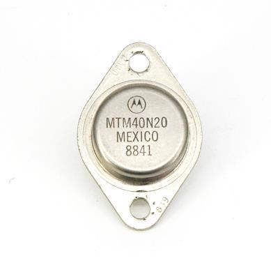 Motorola MTM40N20 image