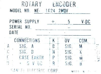 SANSEI NE-1024-2MDF label image