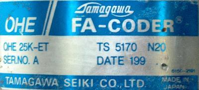 Mitsubishi OHE25K-ET label image