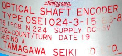 Mitsubishi OSE1024-3-15-68-8 label image