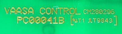VAASA PC00041B label image