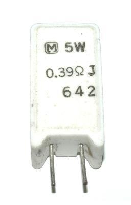 Matsushita RES-0.39-OHM-5W-13-9-25