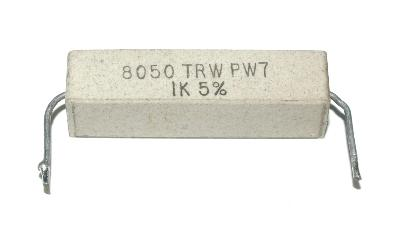 TRW Electronic Components Group RES-1-KOHM-7W-36-10-9
