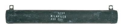 MRC-Milwaukee Resistor Corporation RES-220-OHM-100W-165-19-19