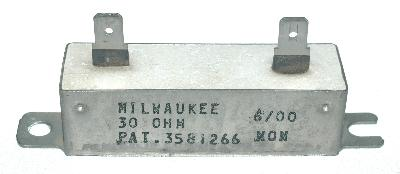 MRC-Milwaukee Resistor Corporation RES-30-OHM-30W-62-18-18