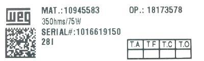 WEG Electric Corp S417102532 image