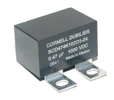 Cornell Dubilier SCD474K102D3-24