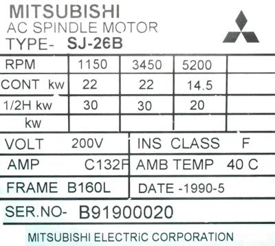 Mitsubishi SJ-26B