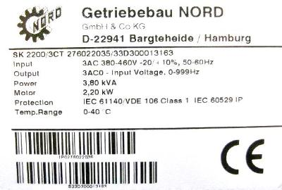 Nord SK2200-3CT label image