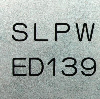 Hitachi Seiki SLPWED139 label image