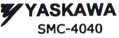 Yaskawa SMC-4040 label image