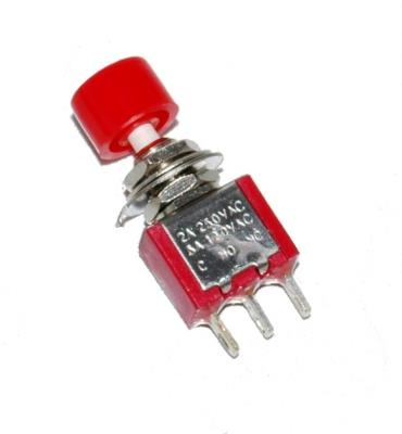 NKK Switches SPDT-ON-MOM-6MM-PUSHBUTTON