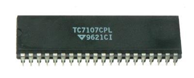 Microchip Technology TC7107CPL