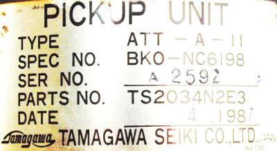 Tamagawa Seiki TS2034N2E3 label image