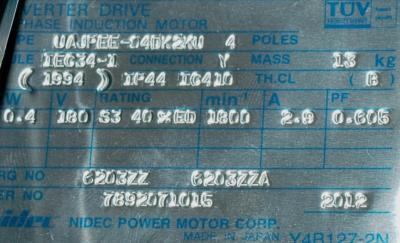 Yaskawa UAJPEE-04DK2KU label image