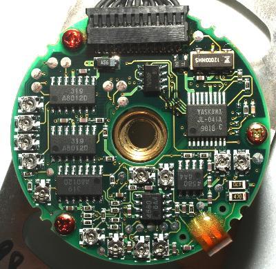 Yaskawa UTOPH-40AWM label image