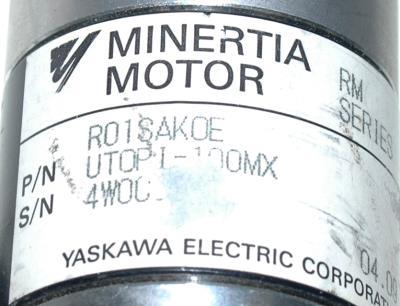 Yaskawa UTOPI-100MX label image
