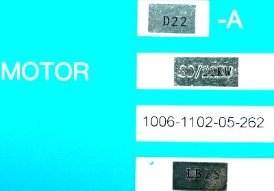 Okuma VAC-I D22-A label image
