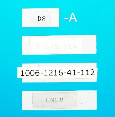 Okuma VAC-I D8-A label image