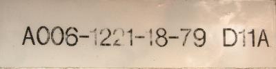 Okuma VAC-II D11A label image
