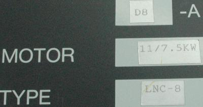 Okuma VAC-II D8A label image
