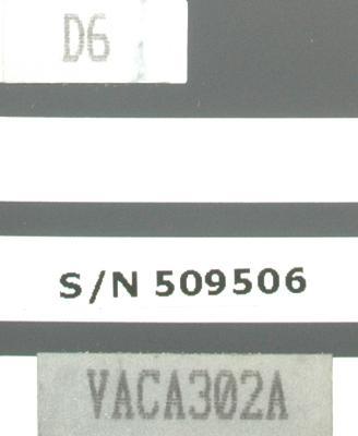Okuma VAC-III D6 label image