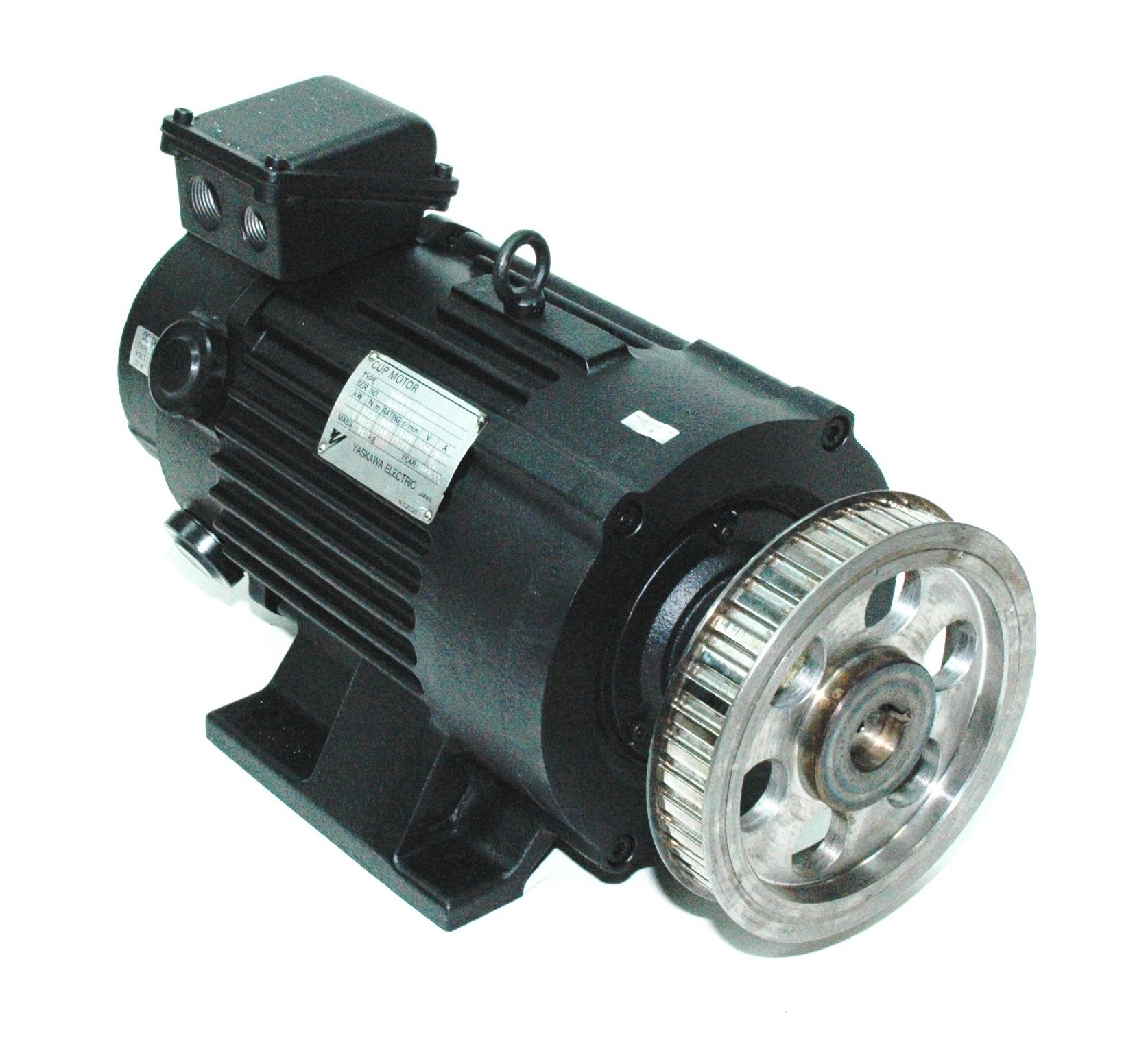 Yaskawa Ugcmed 22aa4s6 Motors Dc Servo Repair