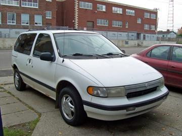 Used '94 <em>Mercury</em> Villager Minivan for Parts