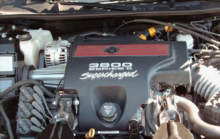 3.8L Supercharged V6 - 60,000 miles