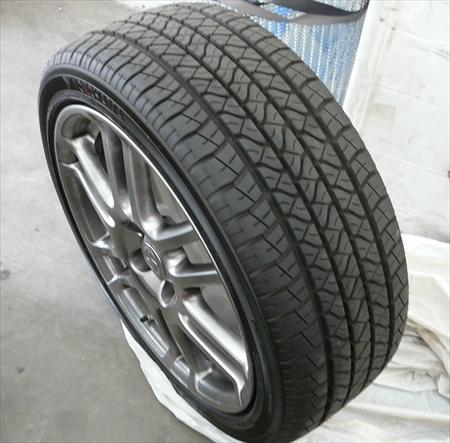 2009 Scion Tc Yokohama Tire And Rim 19822665