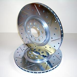 New 2000-2004 Yukon Escalade Drilled Holes Rear Rotors