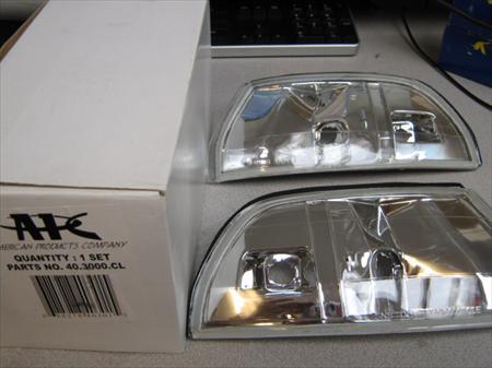 New 1990 91 92 93 Acura Integra APC Clear corner lights
