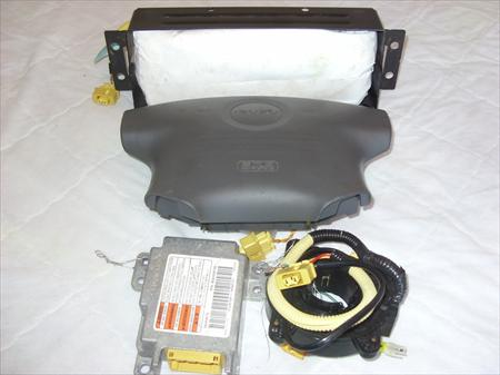 2001 Isuzu Rodeo Air Bag Set Driver Passenger Module And