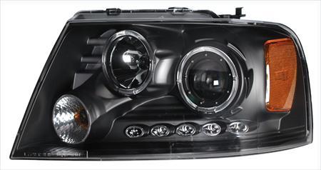 Ford F-150 Projector Head Lights/ Lamps Performance Conversion Kit CG02-AZ-FF04-PBC-LED-A-a2 02-AZ-FF04-PBC-LED-2R-A