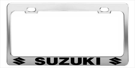 SUZIKI  CAR  License Plate Frames > Chrome STEEL Tag Holder > CAR HOLDER
