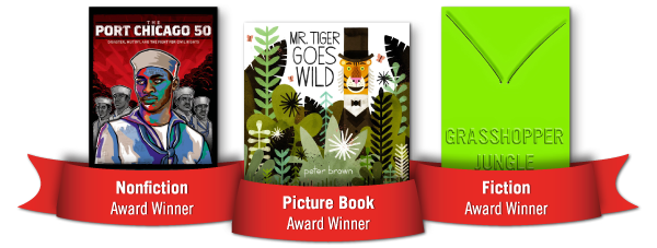 Winners 600px Mind the Gaps: Books for All Young Readers