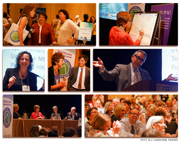 SLJ2013 Collage <i>SLJ</i> Leadership Summit 2014