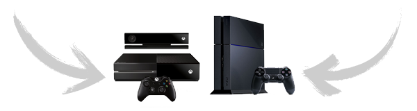 Xbox One + Playstation 4