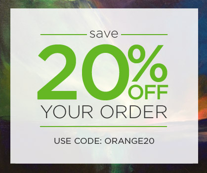 Save 20% off your order! Use Code: ORANGE20