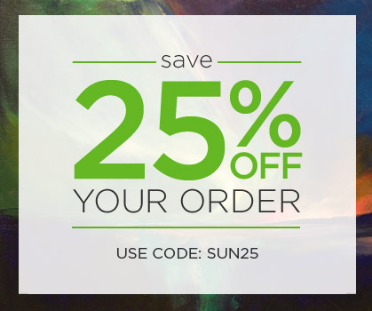 Save 25% off your order! Use Code: SUN25