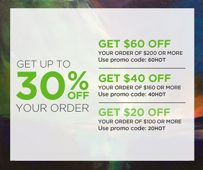 Get $60 off your order of $200 or more! Use Code: 60HOT