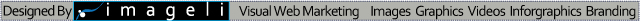 Imageli Website Banner Templates. Small Sleek Advertising Strip Banner With marketing Tagline D.  Website Banner Size:640x21 px