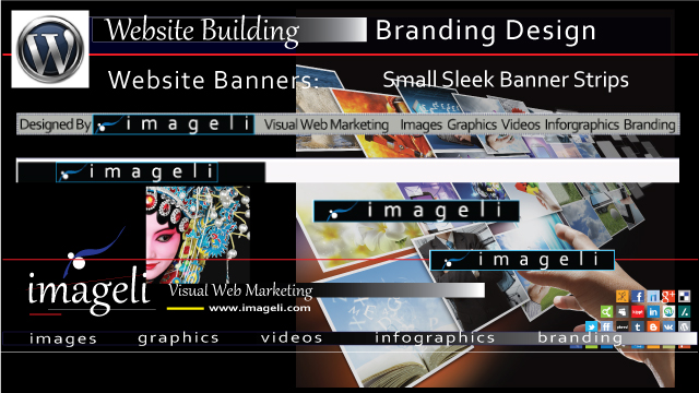 Website Banner Templates: Imageli Small Sleek Strip Advertising Banners thumbnail