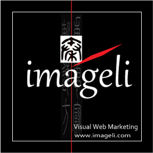 Imageli: Visual Web Marketing Logo. Medium Size Square Format. Image size: 300x300 px