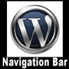 Wordpress Navigation Bar. Thumbnail Size Square Format. Website Banner size: 100x100 px