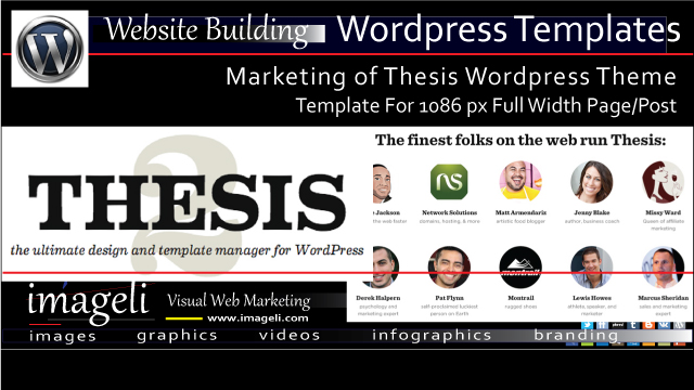 WordPress Templates (1086px Full Width Page/Post) for Marketing of Thesis WordPress Theme thumbnail